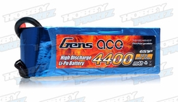 Gens Ace Lipo Battery 4400mAh 60C 6 cells