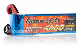 Gens ace LIPO Battery  4800mAh 60-120C 18.5V