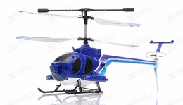 New 3.5 Channel 3319B Photo/Video taking RC Helicopter RTF with Built in Gyro + Camera (Blue)