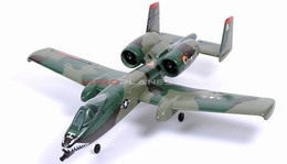Dynam 4-CH A-10 Thunderbolt II Twin 64mm Brushless EDF Remote Control RC Jet 2.4G RTF (Army Green)