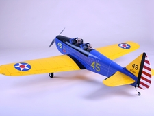 "4-CH CMP Fairchild PT-19 40 - 63"" Nitro/Electric Radio Controlled Fiberglass RC Airplane Kit"