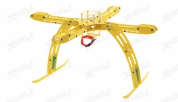 CR4-400 QuadCopter Fiber Glass KIT (Yellow)