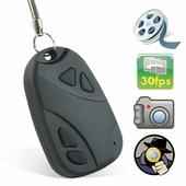 Mini Key Chain Hidden Camera Video Recorder w/ 8 GB Mini SD