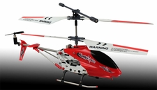 New Dynam Vortex M100 Infrared RC Micro Helicopter 3.5 Channel RTF + Transmitter with Gyro (Red)