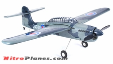 EP 35� Aerobatic Barracuda Scale Remote Control Plane KIT Airframe (Grey)