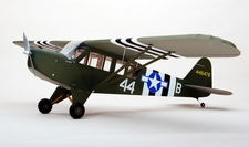 "CMP Piper L-4 72"" Radio Controlled 35 EP Scale Airplane Kit"