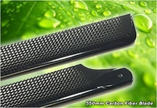 500mm Carbon Fiber Main Blades for 500-Size and T-Rex 500 RC Helicopters