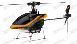 New Walkera V100D08 3D Flybarless RC Helicopter w/ 6 Channel 2.4GHz Devo-7 LCD Transmitter RTF Combo (Orange)