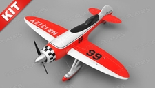 Airfield GeeBee Aerobatic 4 Channel Kit RC Plane Wingspan 1200mm (Red)