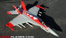 Exceed RC  4 Channel  Extreme Detail RC Red Viper F18 Radio Control EDF Jet KIT Airframe
