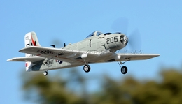 New AirField Mini EPO A1 Skyraider Kit version 800mm Series RC Plane