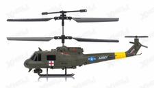New Syma S116G 3 Channel Coaxial Infrared RC Helicopter RTF w/ Gyro (Green)