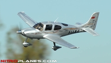 Dynam 4-CH SR Trainer 965MM Brushless Remote Control RC Plane 2.4G RTF (Silver)