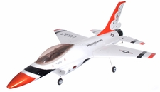 Dynam 4-CH F16 64mm EDF Brushless Remote Control RC Jet RTF