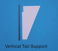 Vertical fin set