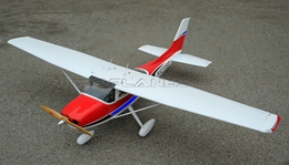 Projet Cessna-182 Sky Trainer 140 Nitro 120~140 Engine Powered RC Scale Plane Kit Version 2