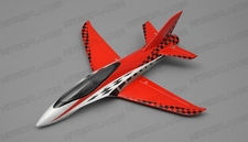 "NEW 3 Channel Exceed RC Mini X 26"" Electric Powered RC Airplane Kit (Red)"
