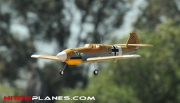 "AirField 800mm (31.5"") Electric BF-109 Messerschmitt RC War Plane w/ 2.4Ghz Brushless/Lipo RTF"