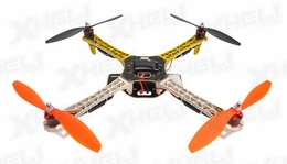 AeroSky Quadcopter  4 Channel RTF w/ LED  (Yellow)