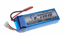 Blue Lipo 6-Cell 2650mAh 6S1P 22.2v 20C RC Battery