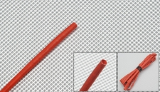 heat-shrinkable tubing    �3---red