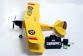 4-Channel Tiger Moth RTF Electric RC Biplane Radio Remote Control RC Airplane Bi-Plane