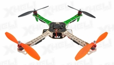 AeroSky Quadcopter  4 Channel RTF w/ LED (Green)