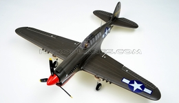 New AirField RC P40 1400mm Warbird  Airplane Kit *Super Scale* EPO Foam Plane + Electric Retract + Flaps(Green)