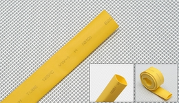 heat-shrinkable tubing �10---yellow