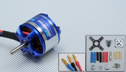 Exceed RC Rocket Brushless Out Runner Motor for Airplane (1020KV)