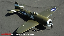 93A847 AirField RC Green P47 750mm Spare Parts
