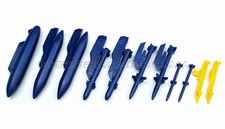 Foam Parts - 1 Set Of Tank-Blue