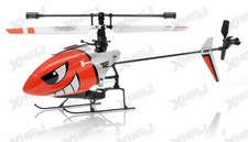 Hero RC H911 iRocket 4 Channel Fixed Pitch Ready to Fly Helicopter w/ bonus Battery, Balance Bar, Main Blade, Connect Buckle, Tail Blade, USB Charger (Red)