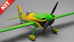 "Aerosky 4 Channel Extra 330SC Special Edition 55"" Sports Aerobatic Brushless RC Airplane Kit (Green)"