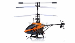New Mingji F-Series 503 RC Helicopter 4 Channel 2.4Ghz RTF + Transmitter (Orange)