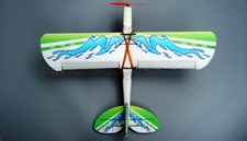 Tech One RC 4 Channel Flyfun EPP RC Airplane Kit Version (Green)