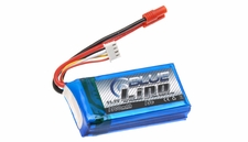 Blue Lipo 1300mAh 3S1P 11.1v 15C Battery