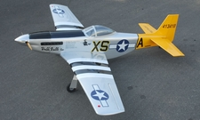 "New Double Trouble Two P-51D Mustang 60 - 65.5"" Nitro Fuel Powered Radio Remote Controlled RC Warbird Airplane ARF"