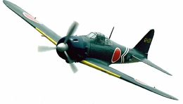 "CMP Mitsubishi A6M5 52 Zero Fighter 120 - 71"" Scale Nitro Gas Radio Remote Control Warbird Airplane"