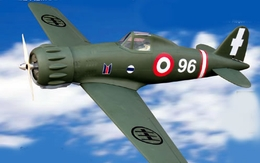 "Italian Royal Air Force's Macchi MC 200 ""Saetta"" ARF 60 - 63"" Nitro Gas Radio Remote Controlled RC Warbird Airplane New!"