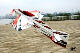 Tech One RC 4 Channel Venus EPO RC Airplane Kit Version (Red)