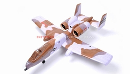 Dynam 4-CH A-10 Thunderbolt II Electric Ducted Fan Dual 64mm Airplane ARF (Desert) w/ Brushless Motor + ESC