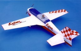 "CMP Katana-S 140 - 72"" Almost-Ready-to-Fly Nitro Gas Power RC Radio Remote Controlled Aerobatic Flying Aircraft ARF Plane"