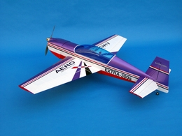 "CMP Purple Extra 300s 140 - 73"" Nitro Gas Radio Remote Controlled RC Airplane ARF Kit"