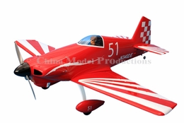 "CMPro Midget Mustang 60/70 - 55"" Nitro Powered Remote Control Airplane ARF"