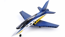 64mm Concept X Super Performance Brushless Ducted Fan RC Jet ARF Receiver-Ready (Blue)
