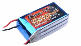Gens ace 1300mah 3S1P 11.1V 25C Lipo battery pack