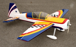 "Yak 52 3D 50 - 56"" Nitro Gas Radio Remote Controlled Aircraft Almost-Ready-to-Fly ARF"