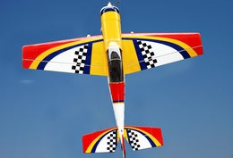 "Yak 54 3D 50 - 56"" Nitro Gas Radio Remote Controlled Aircraft Almost-Ready-to-Fly ARF"