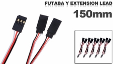 Futaba Y extension lead 150mm (5 pcs)